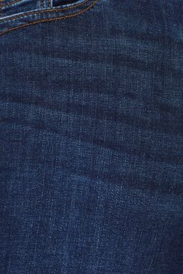 Soft stretch jeans with a thermal inner surface, BLUE DARK WASH, detail
