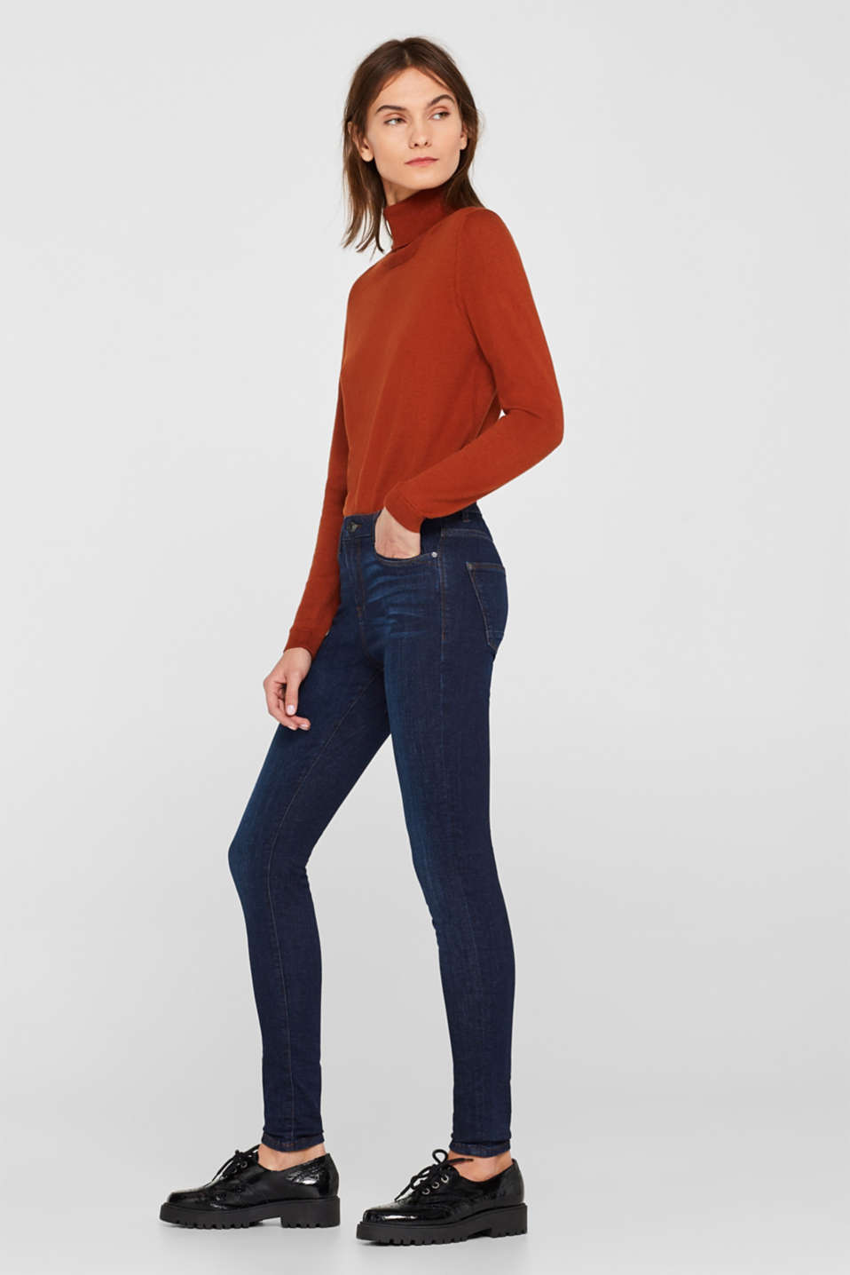 Esprit - Stretch-Jeans im Basic-Look
