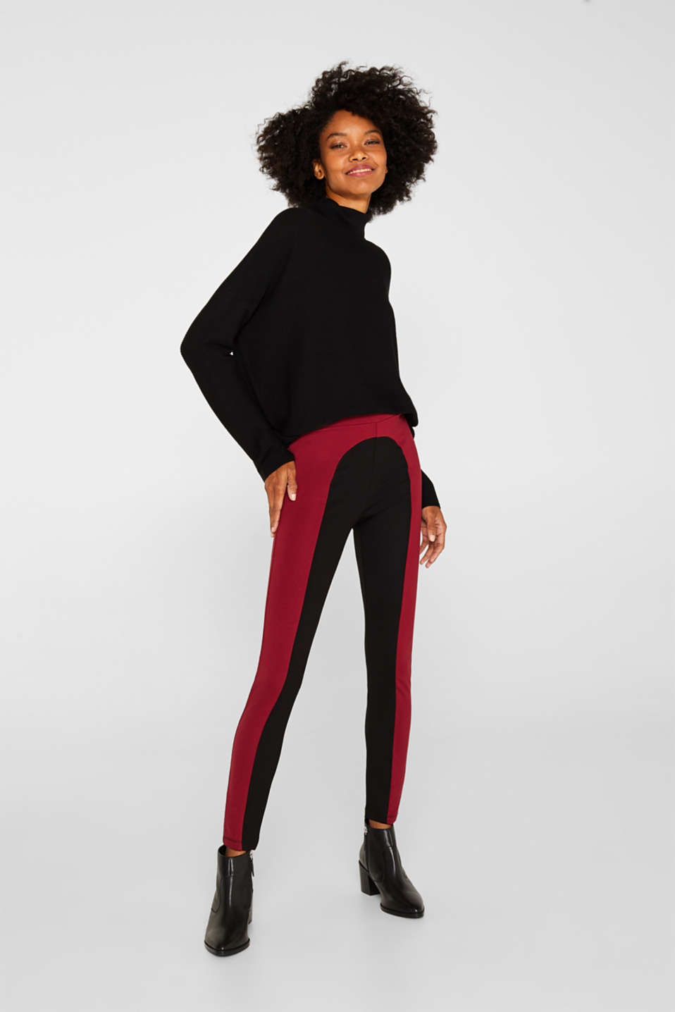 Esprit - Leggings sculptants au look bicolore