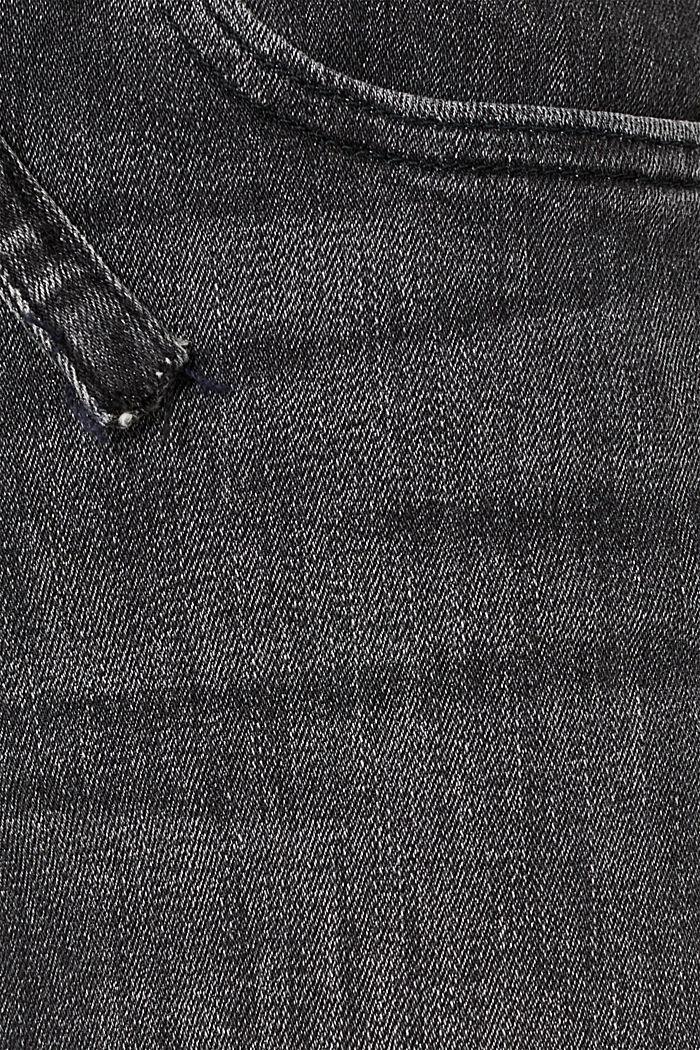 Pants denim, BLACK DARK WASHED, detail image number 4
