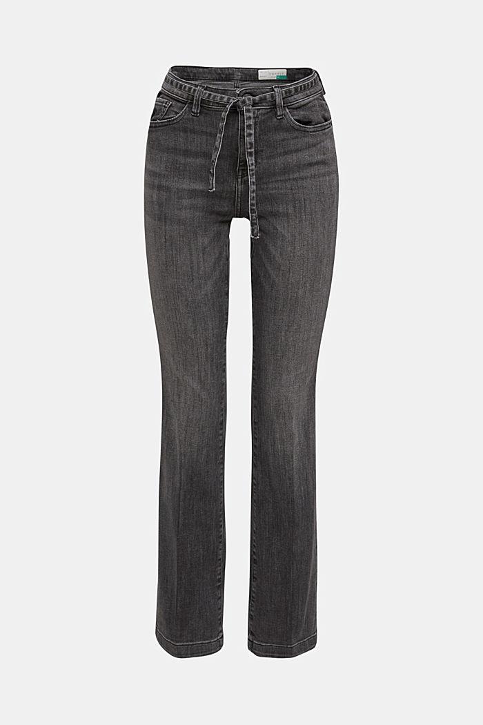 Pants denim, BLACK DARK WASHED, detail image number 7