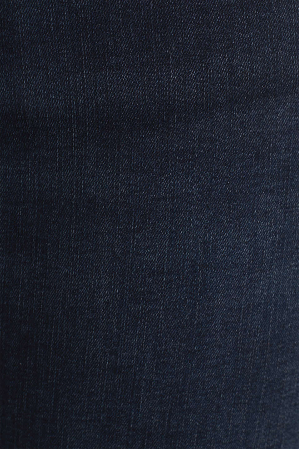 CURVY jeans with piped pockets, BLUE DARK WASH, detail image number 4