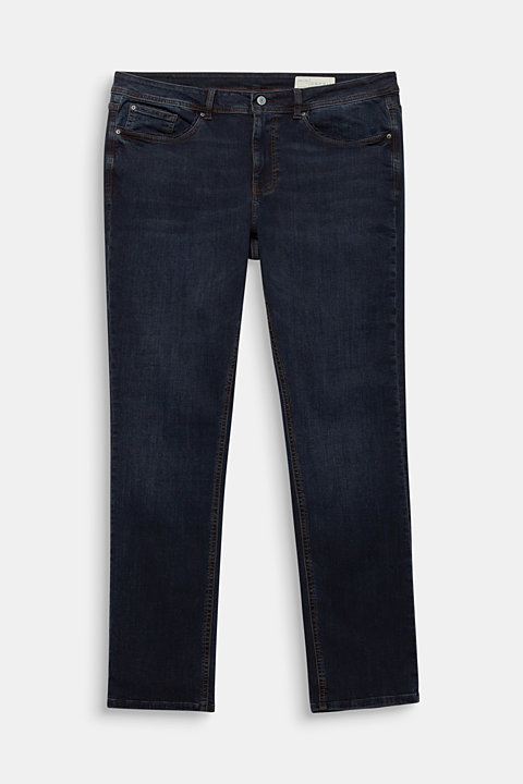 CURVY jeans with piped pockets