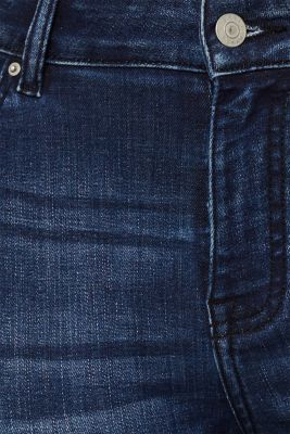 CURVY super stretch jeans, BLUE DARK WASH, detail