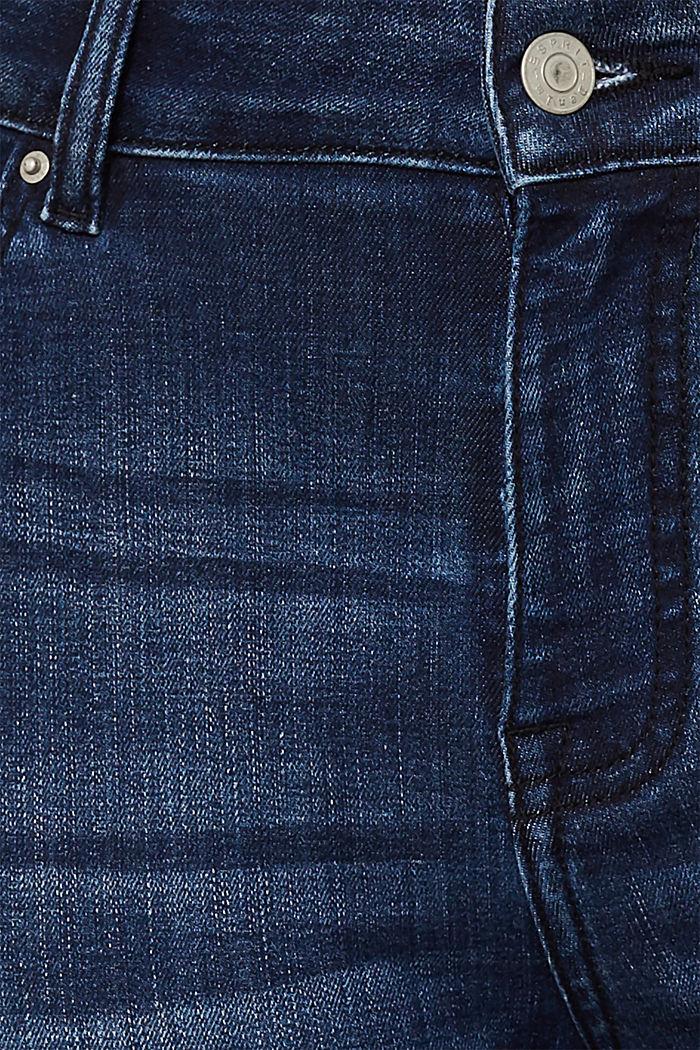 CURVY super stretch jeans, BLUE DARK WASHED, detail image number 4