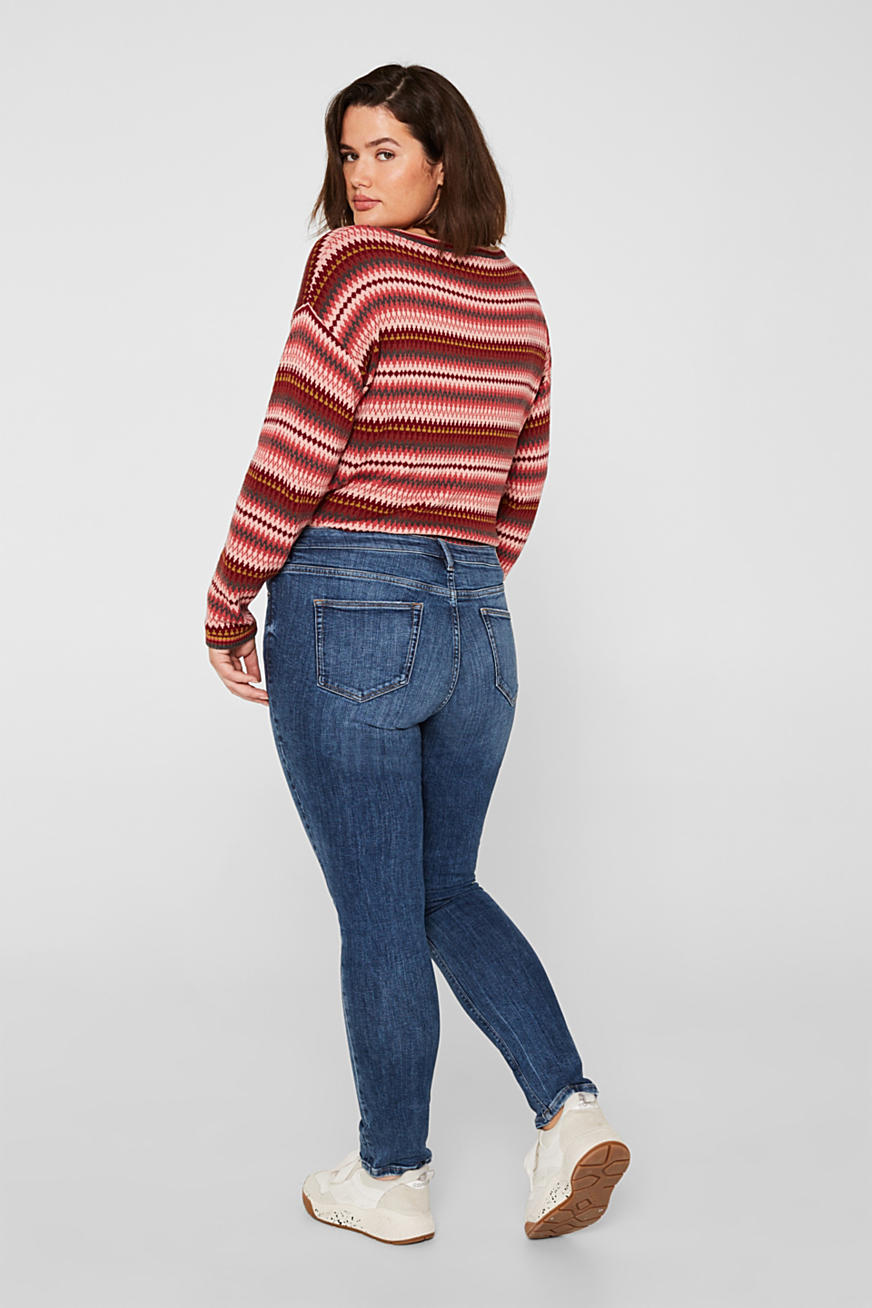 CURVY basic stretchjeans