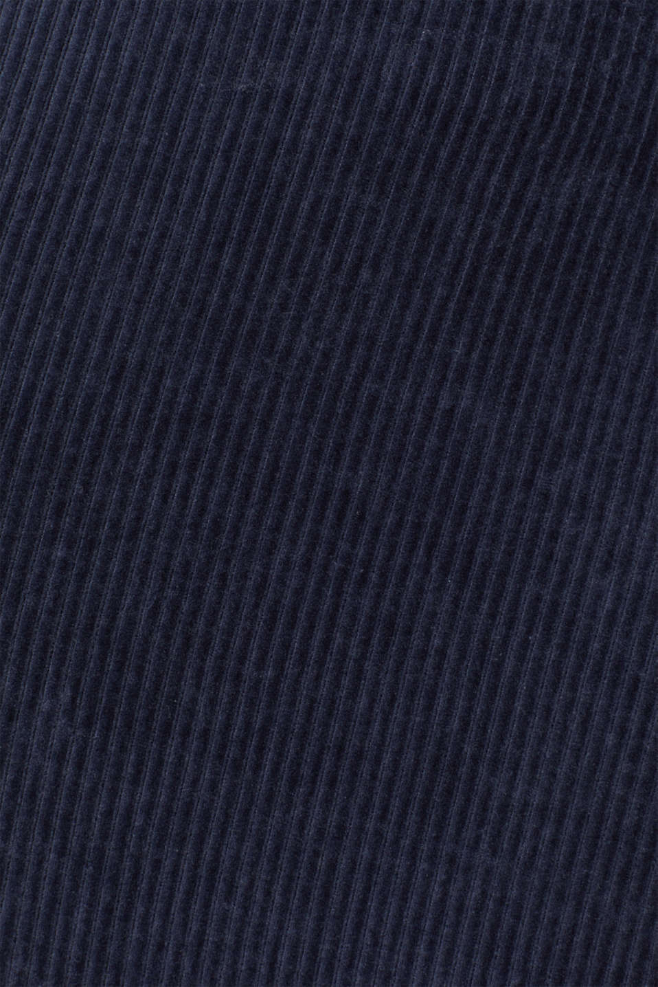 Stretch jersey skirt in a corduroy look, NAVY, detail image number 4