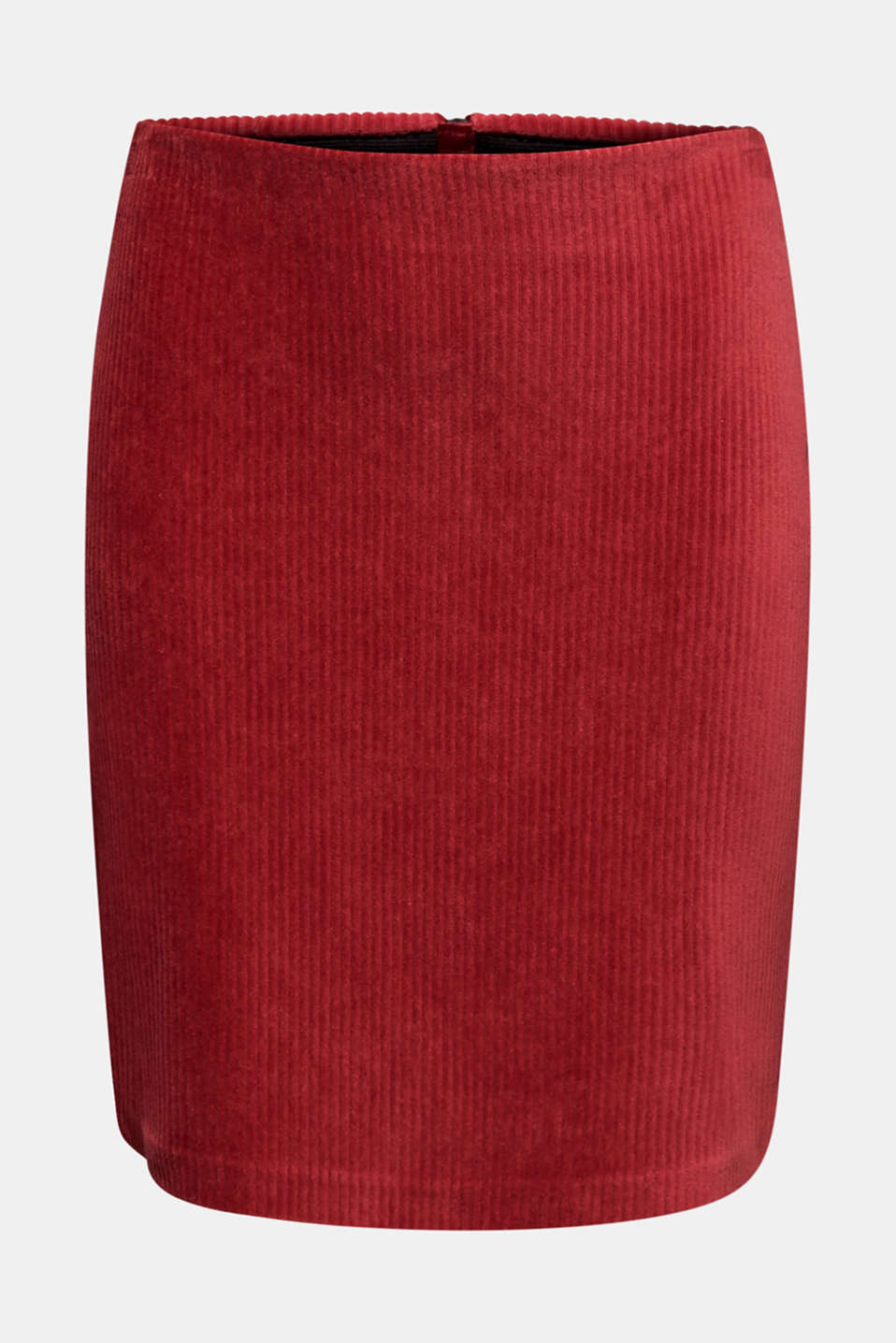 Skirts knitted, GARNET RED, detail image number 7