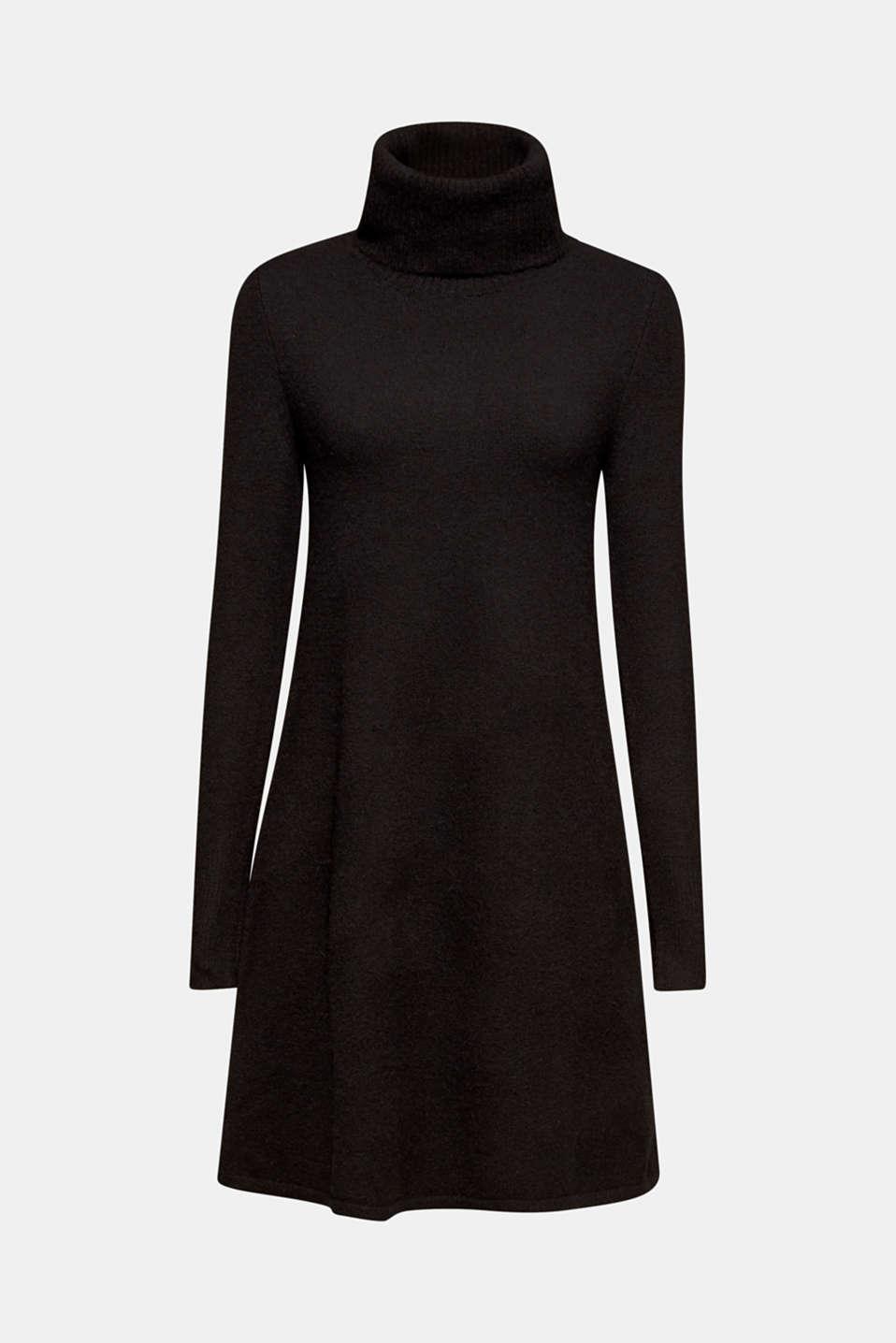 Dresses flat knitted, BLACK, detail image number 5