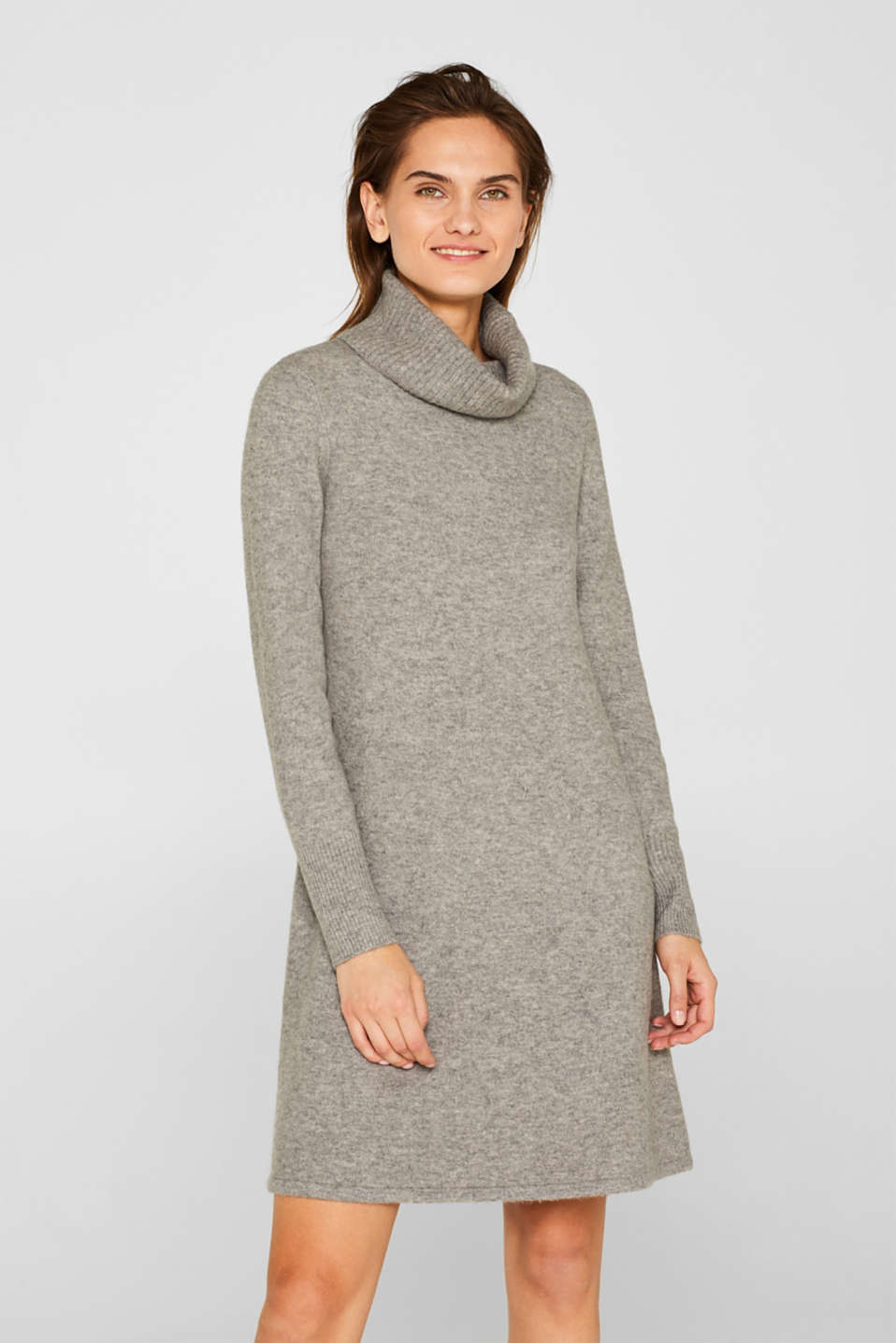 Dresses flat knitted, MEDIUM GREY 5, detail image number 0