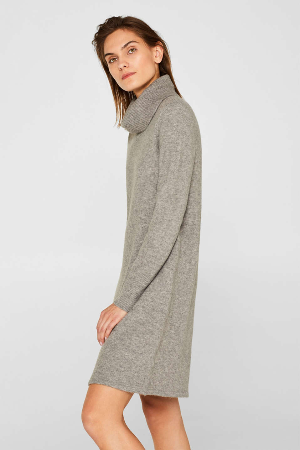 Dresses flat knitted, MEDIUM GREY 5, detail image number 5