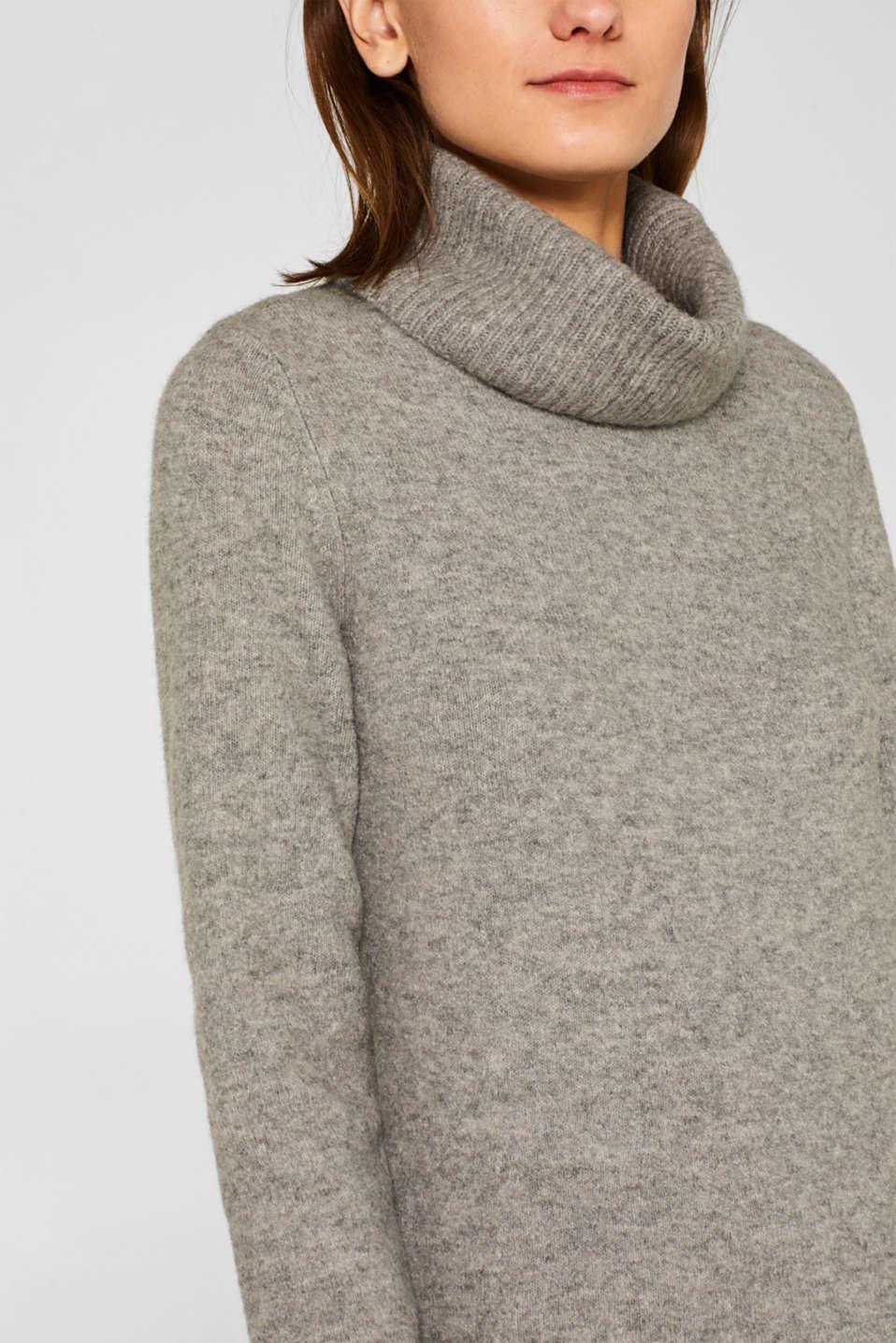 Dresses flat knitted, MEDIUM GREY 5, detail image number 3