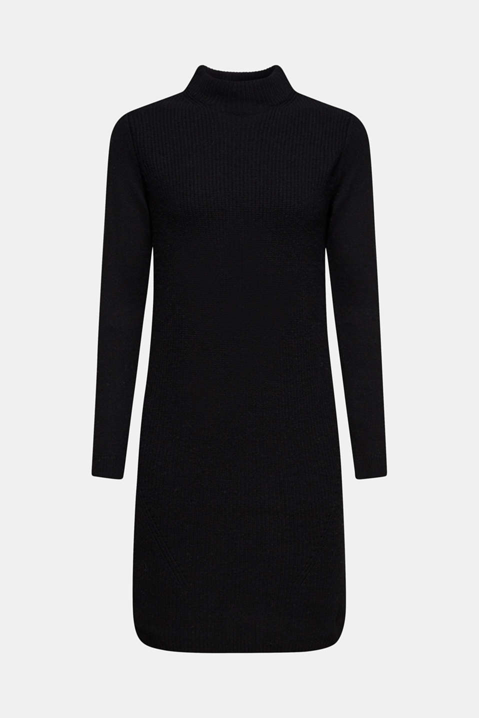 Dresses flat knitted, BLACK, detail image number 6
