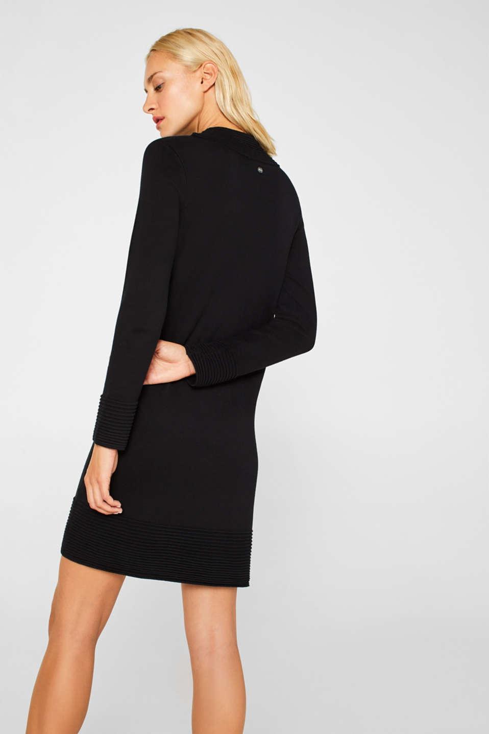 Dresses flat knitted, BLACK, detail image number 2