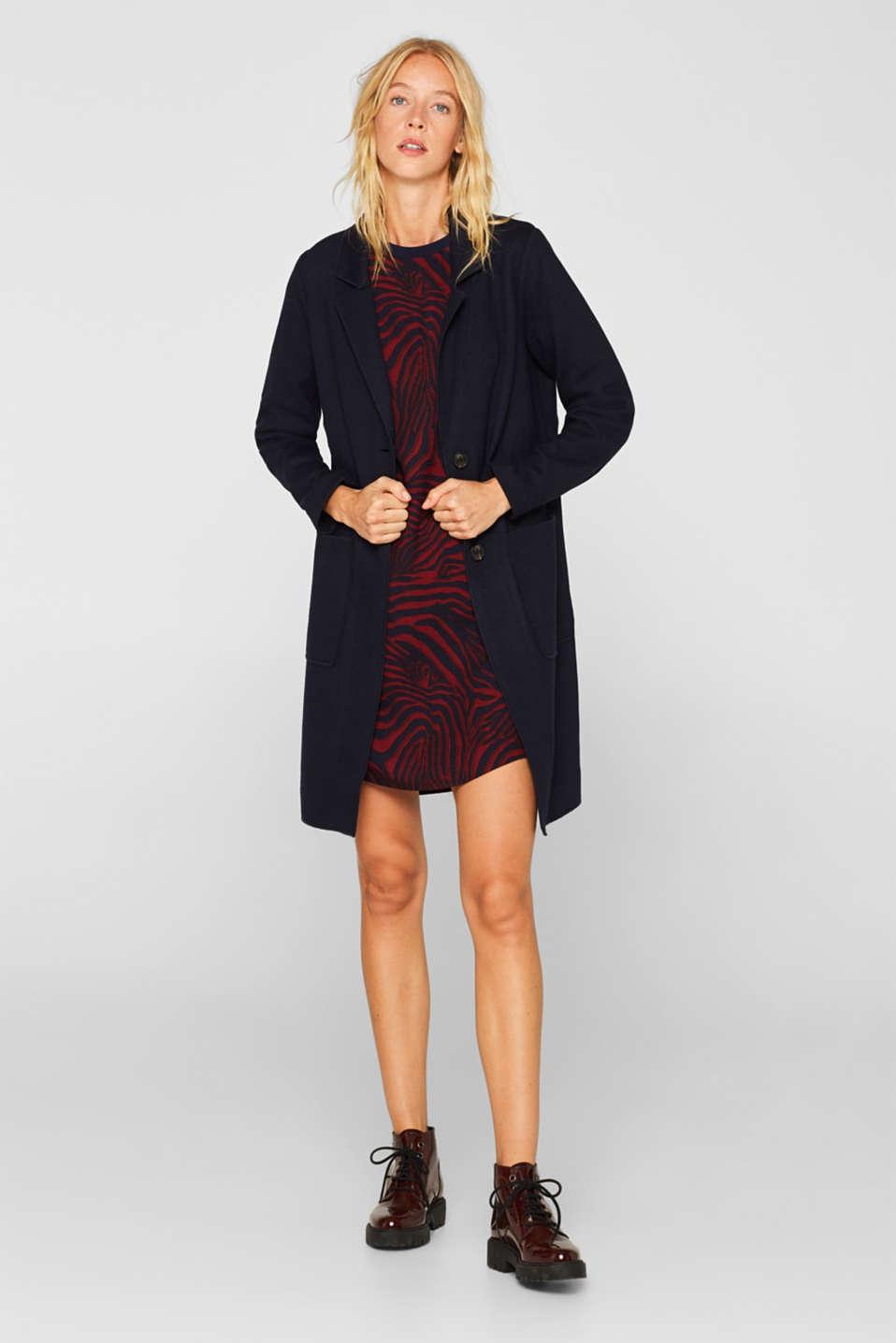 Dresses light woven, GARNET RED, detail image number 1