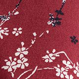 Print blouse with LENZING™ ECOVERO™, GARNET RED, swatch