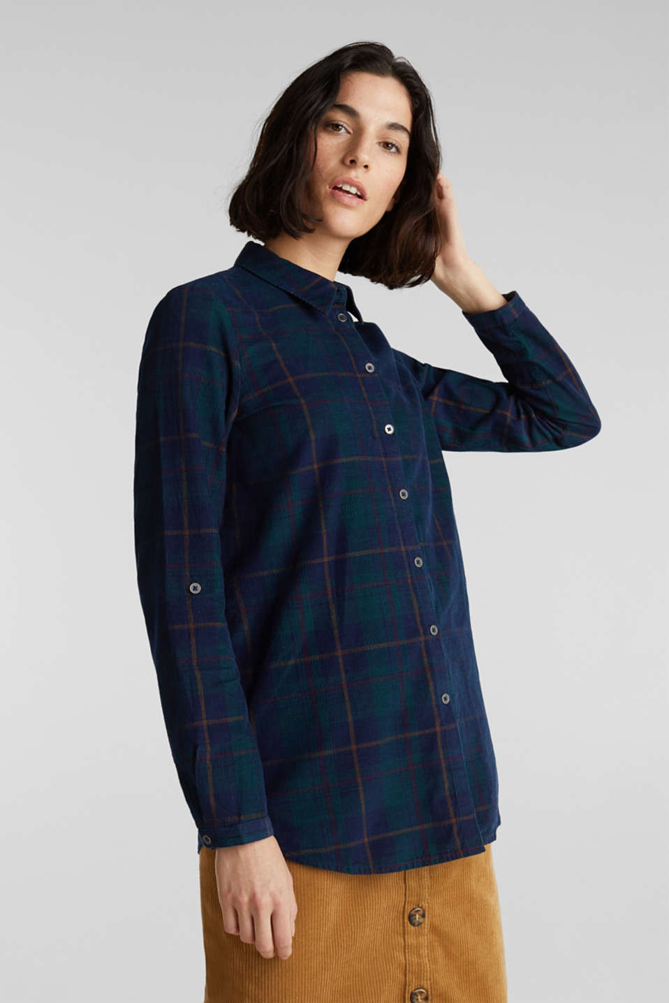 Blouses woven, NAVY, detail image number 0