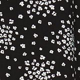 Print blouse with LENZING™ ECOVERO™, BLACK 3, swatch