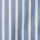 Long blouse with stripes, 100% cotton, BLUE, swatch