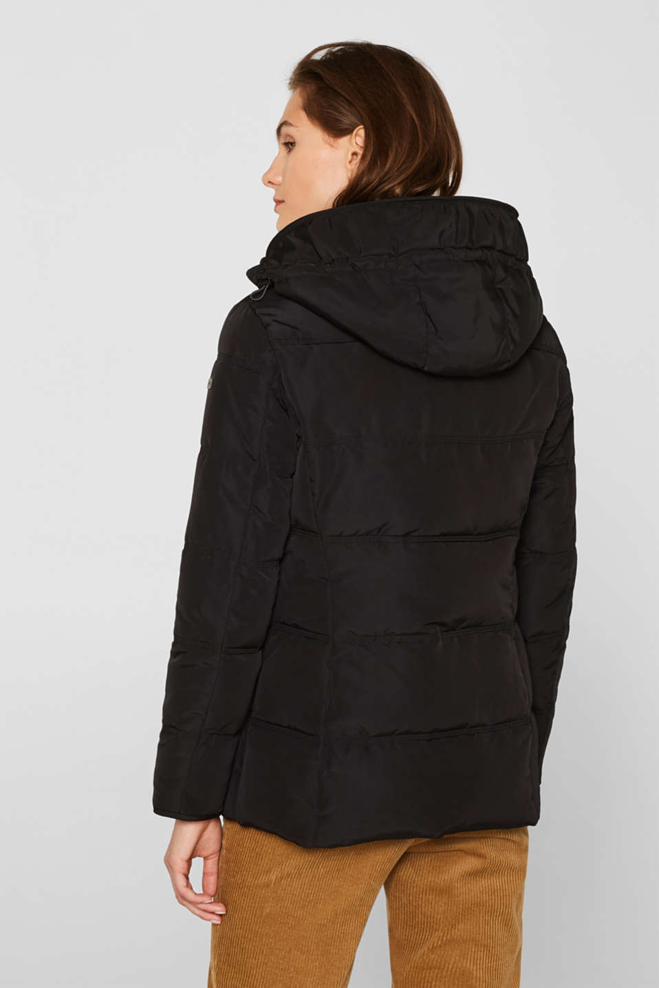 Jackets outdoor woven, BLACK, detail image number 3
