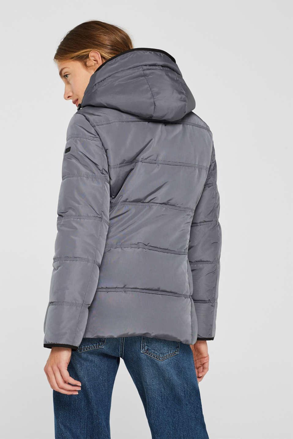 Jackets outdoor woven, DARK GREY, detail image number 3