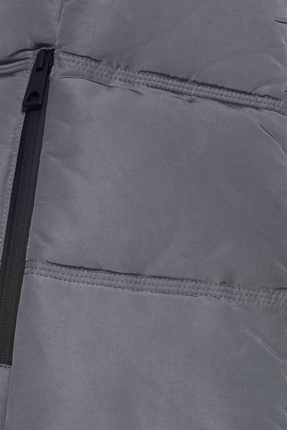 Jackets outdoor woven, DARK GREY, detail image number 4