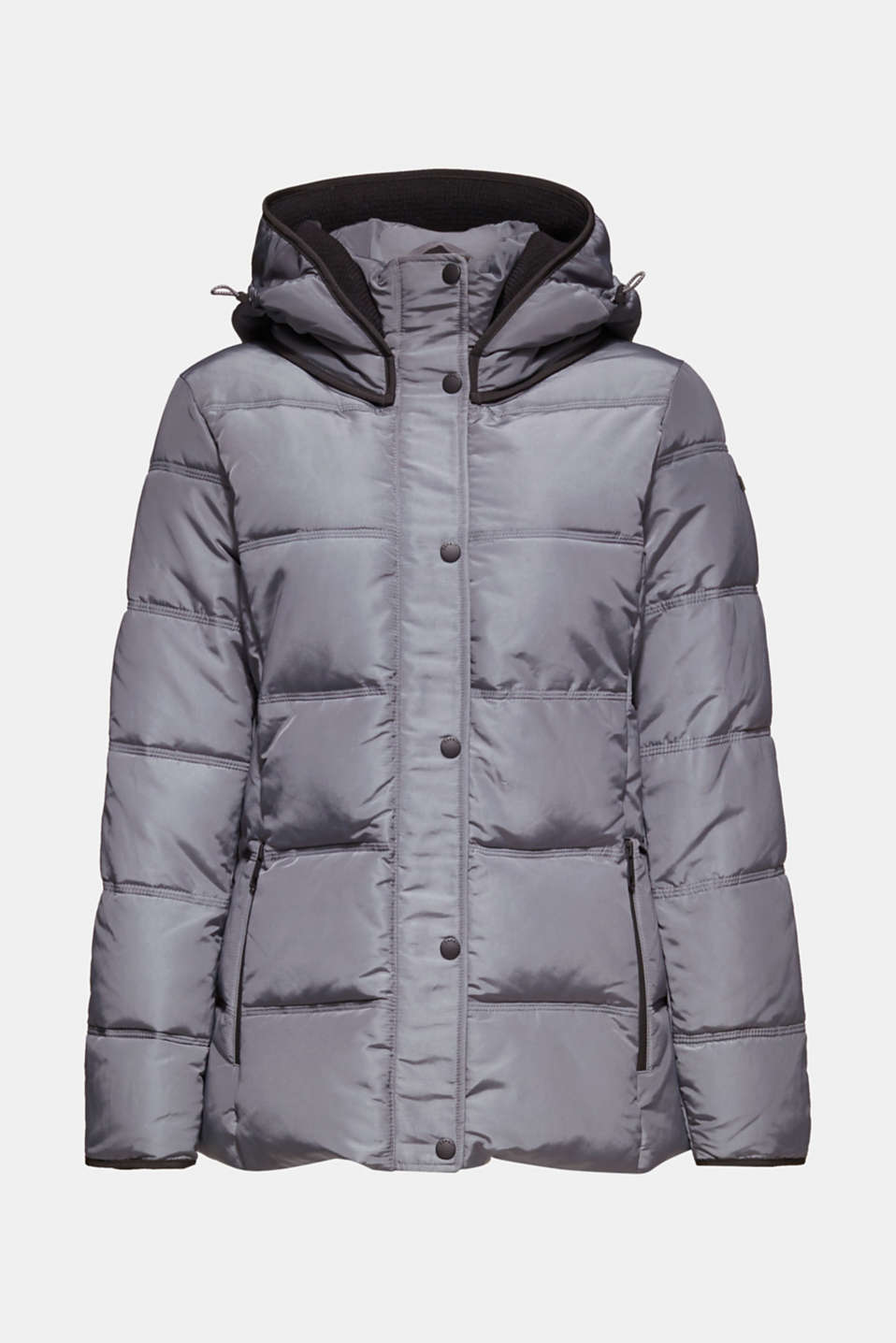 Quilted jacket with 3M™ Thinsulate™ technology, DARK GREY, detail image number 7