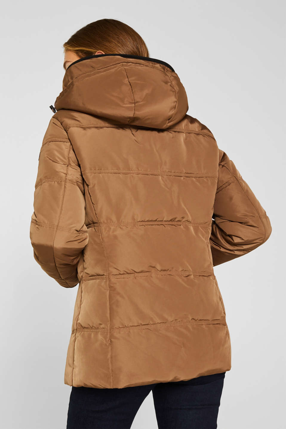 Quilted jacket with 3M™ Thinsulate™ technology, TAUPE, detail image number 3