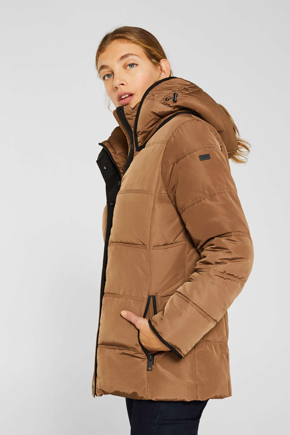 Quilted jacket with 3M™ Thinsulate™ technology, TAUPE, detail image number 5