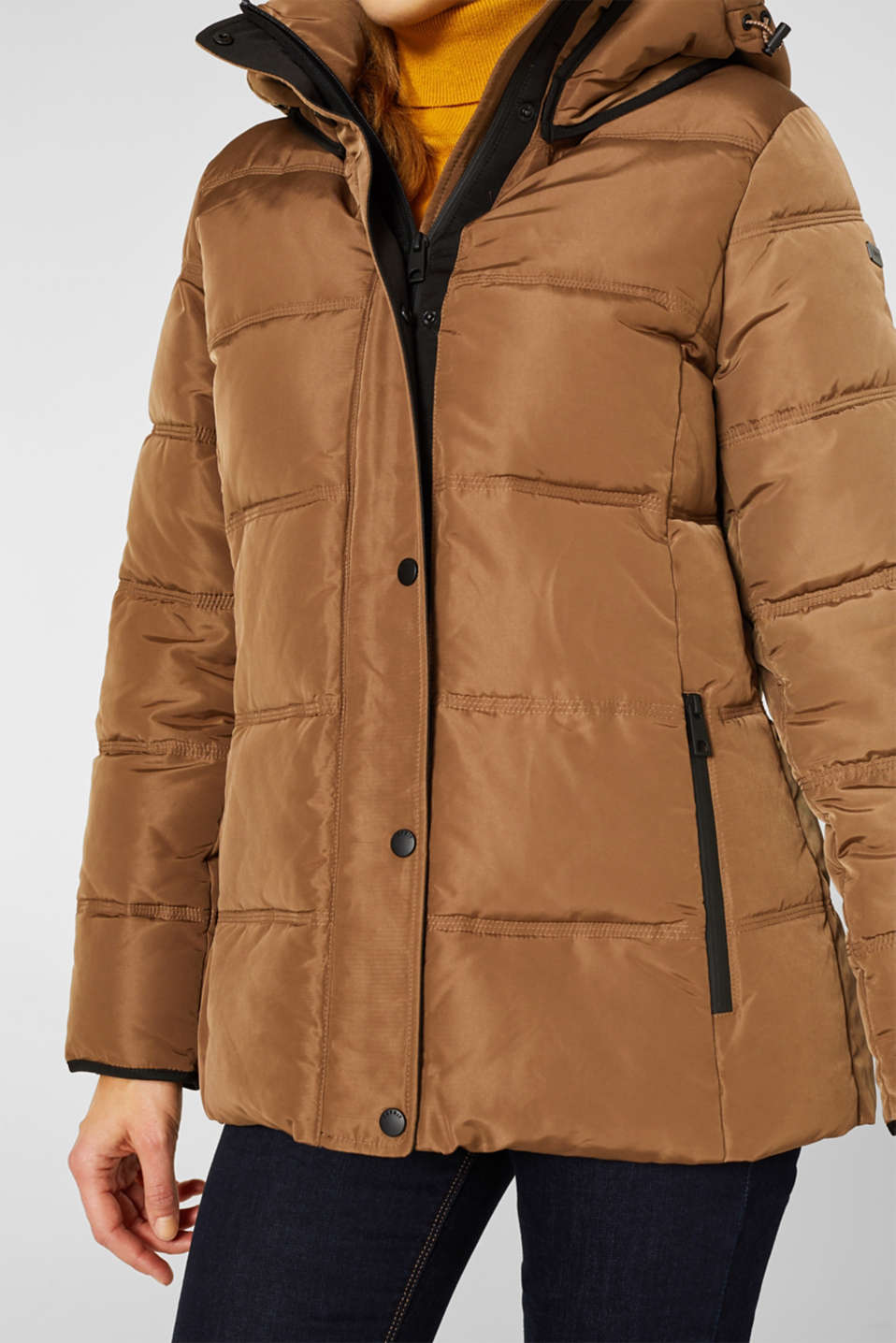 Quilted jacket with 3M™ Thinsulate™ technology, TAUPE, detail image number 2