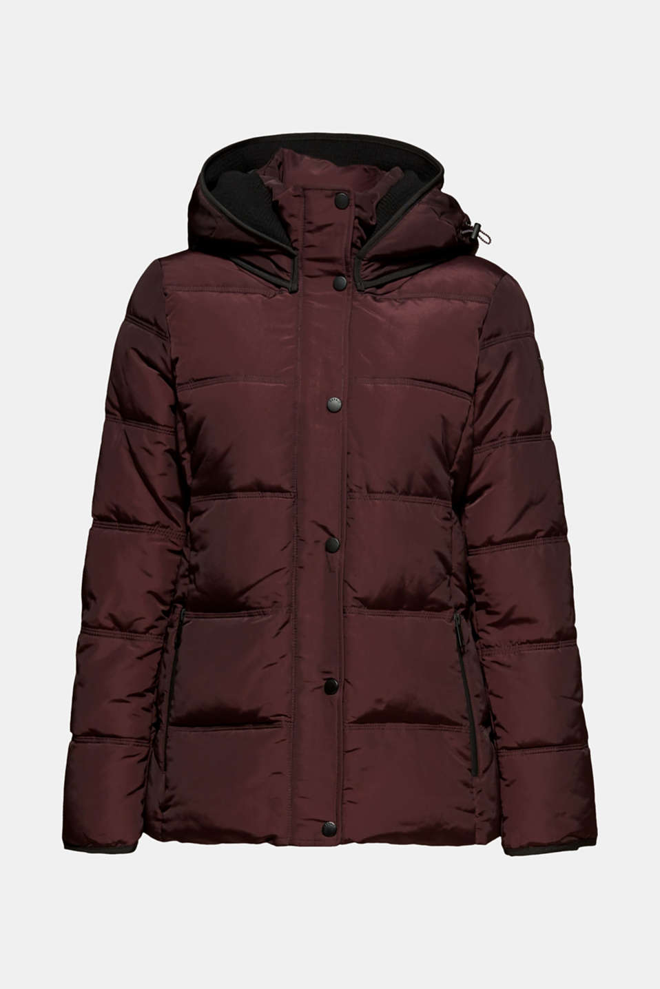 Quilted jacket with 3M™ Thinsulate™ technology, BORDEAUX RED, detail image number 6