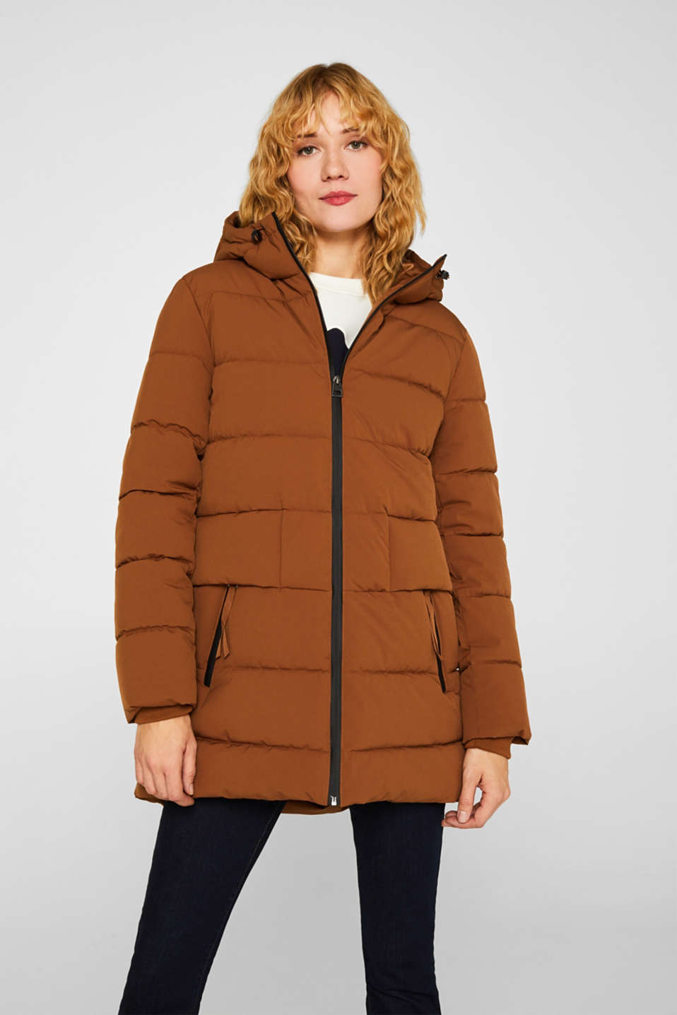 Quilted jacket with 3M™ Thinsulate™ padding, TOFFEE, detail image number 0