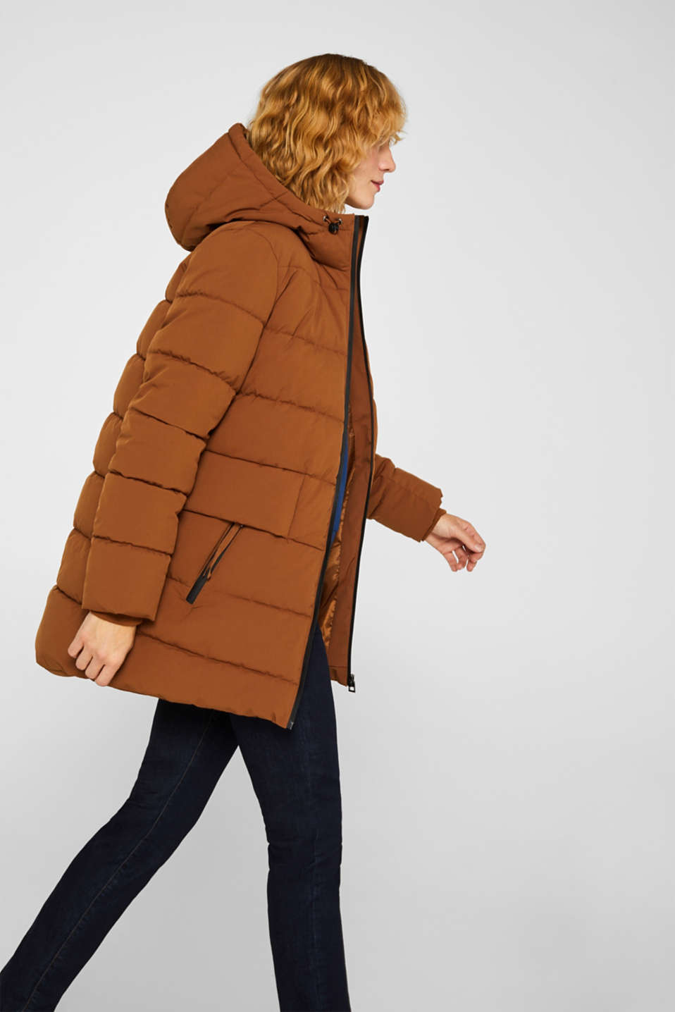 Quilted jacket with 3M™ Thinsulate™ padding, TOFFEE, detail image number 5