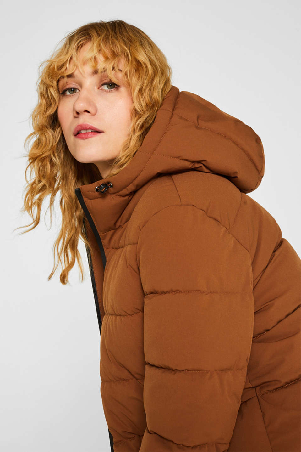 Quilted jacket with 3M™ Thinsulate™ padding, TOFFEE, detail image number 7
