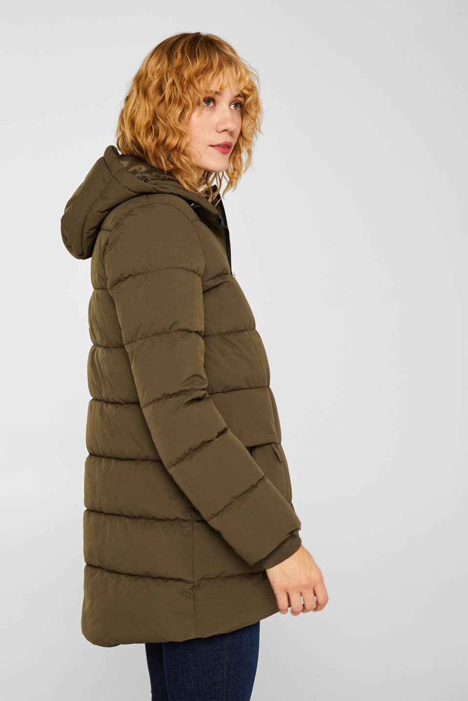 Quilted jacket with 3M™ Thinsulate™ padding, KHAKI GREEN, detail image number 5