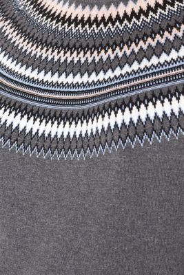 Jacquard Christmas jumper, 100% cotton