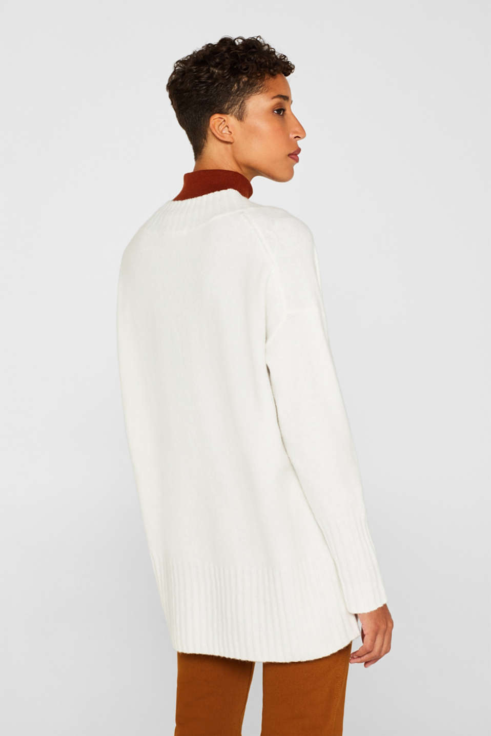 Sweaters, OFF WHITE, detail image number 3