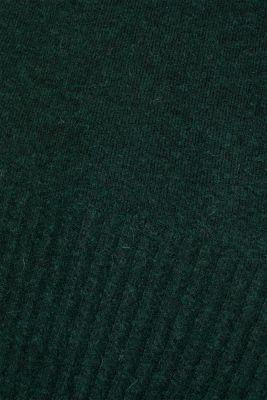 Wool/alpaca blend: V-neck jumper