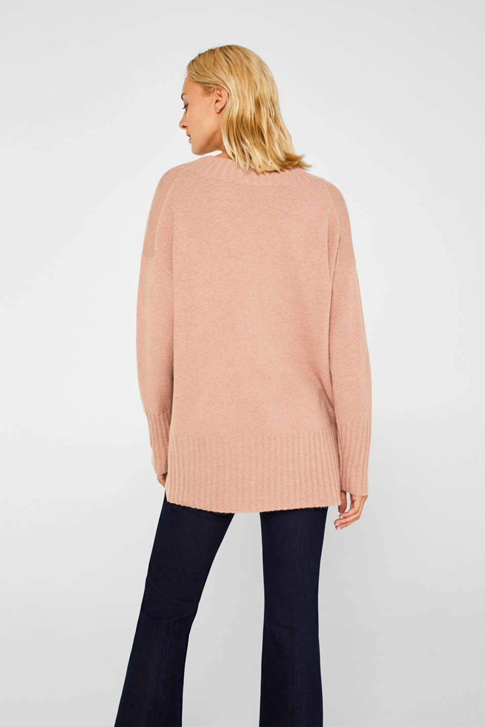 Sweaters, MAUVE 5, detail image number 3