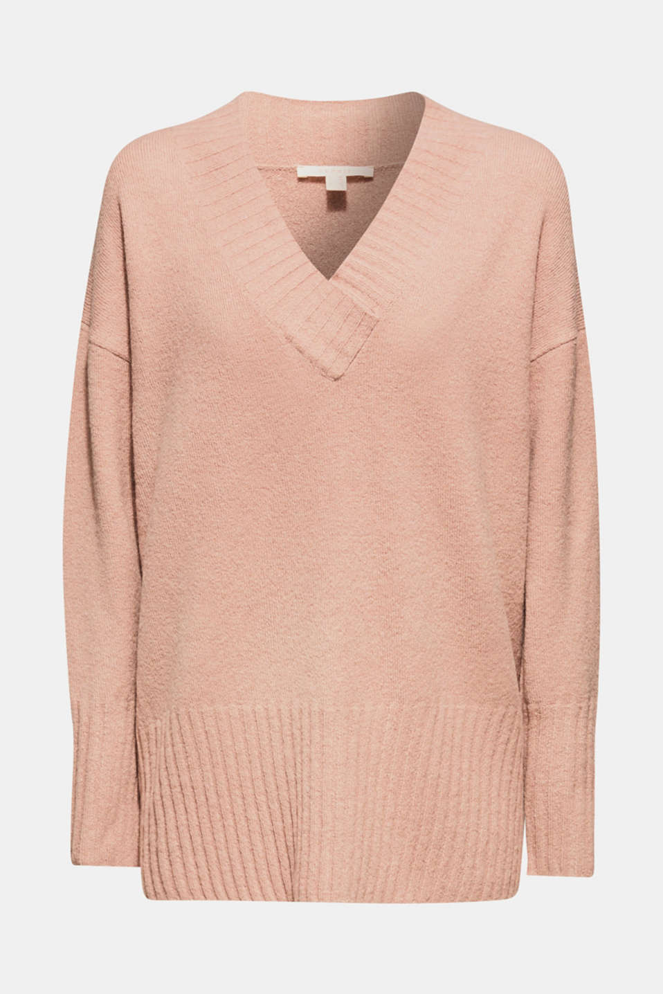 Sweaters, MAUVE 5, detail image number 6