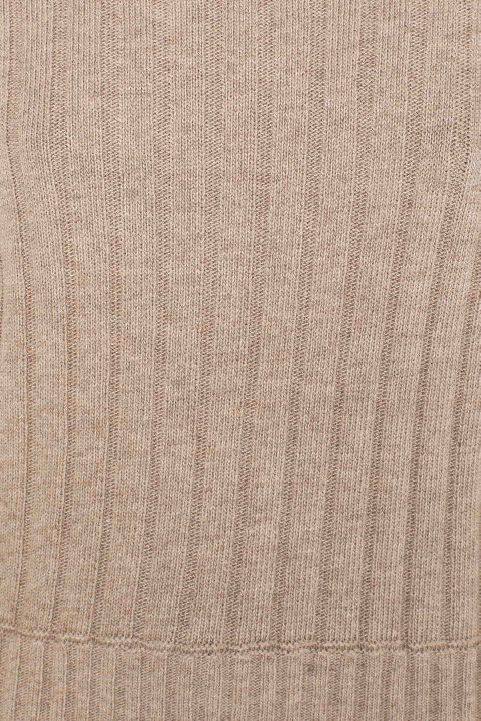 Ribbed jumper containing cashmere, TAUPE 5, detail image number 4