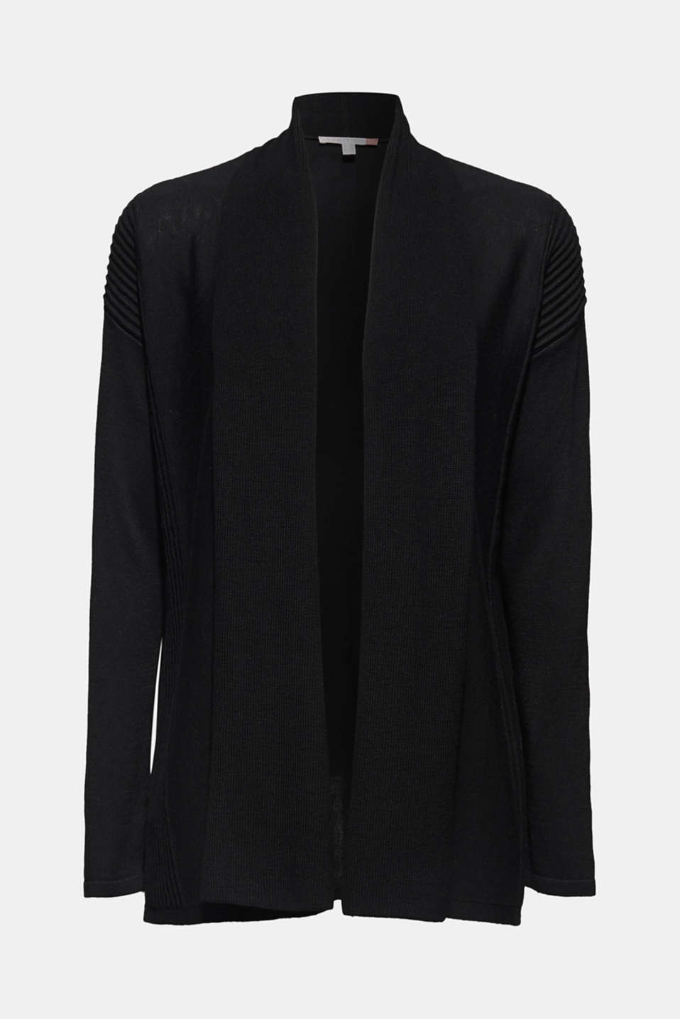 Sweaters cardigan, BLACK, detail image number 5