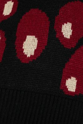 Polo neck jumper with alpaca