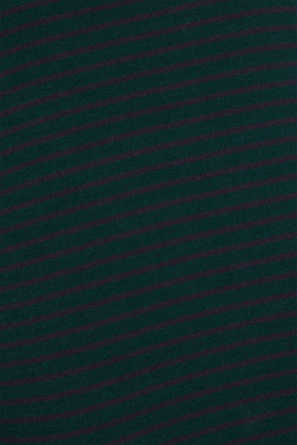 T-Shirts, DARK TEAL GREEN, detail image number 4