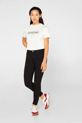Statement T-shirt, 100% cotton, OFF WHITE, detail