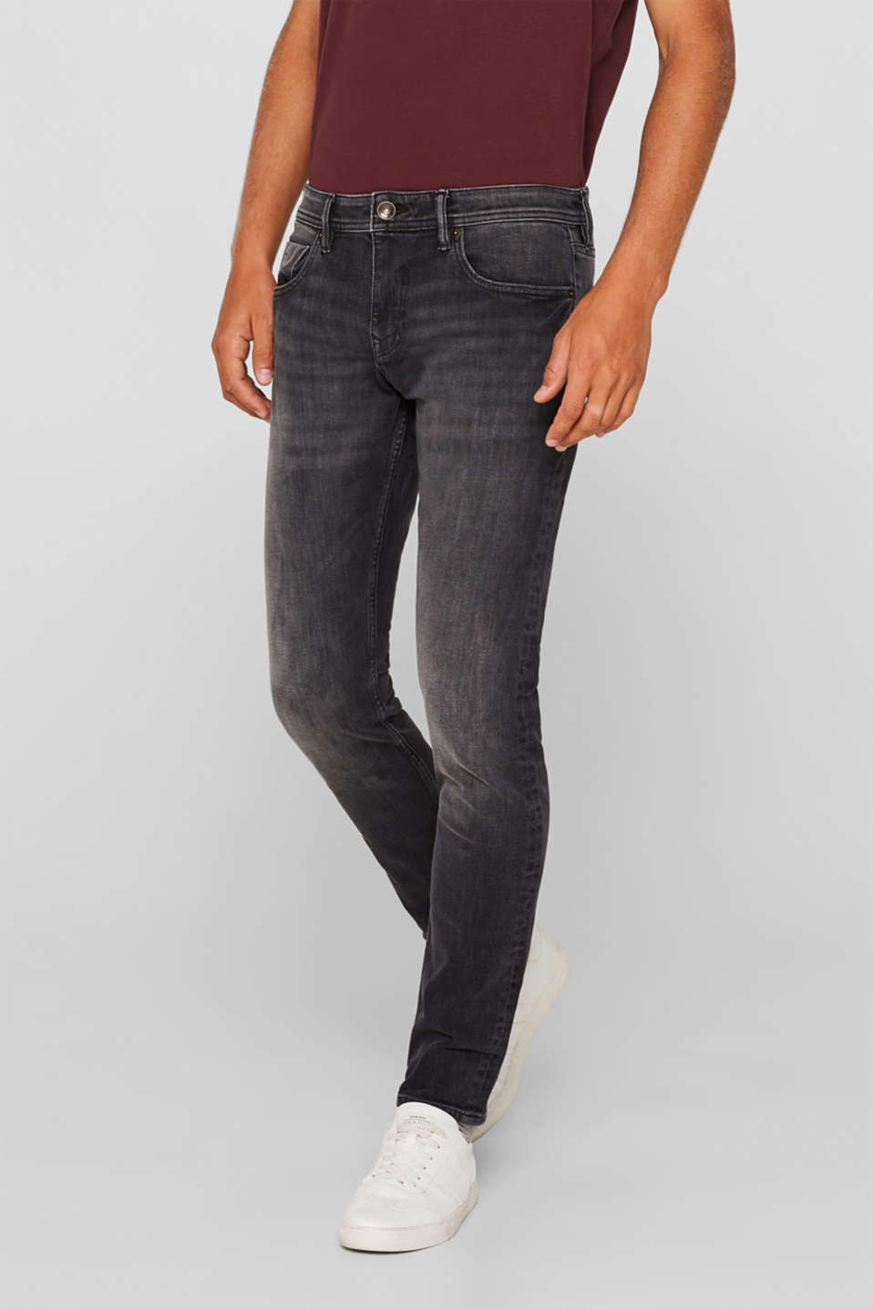Esprit - Dynamic denim met veel comfortabele stretch