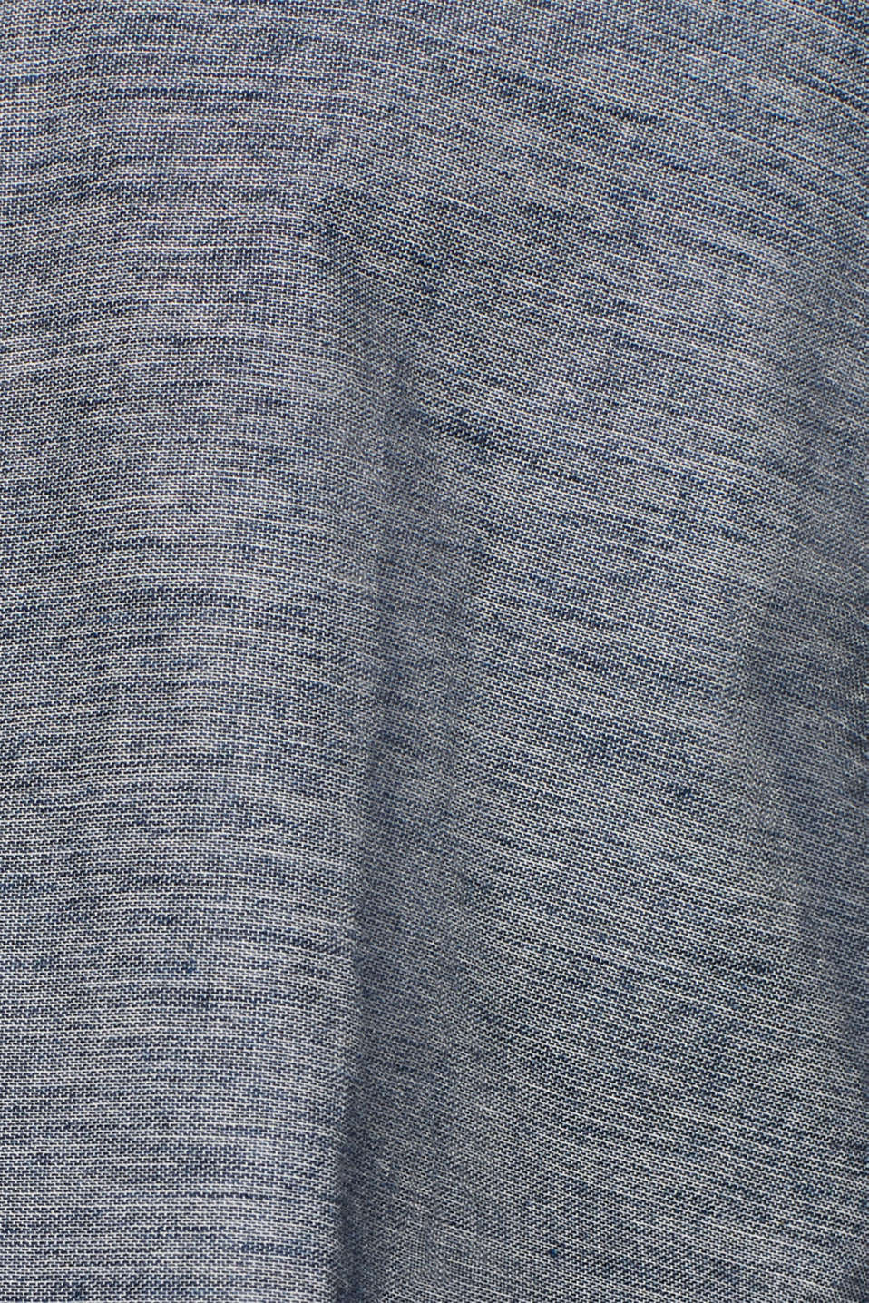 100% cotton shirt, GREY BLUE, detail image number 4