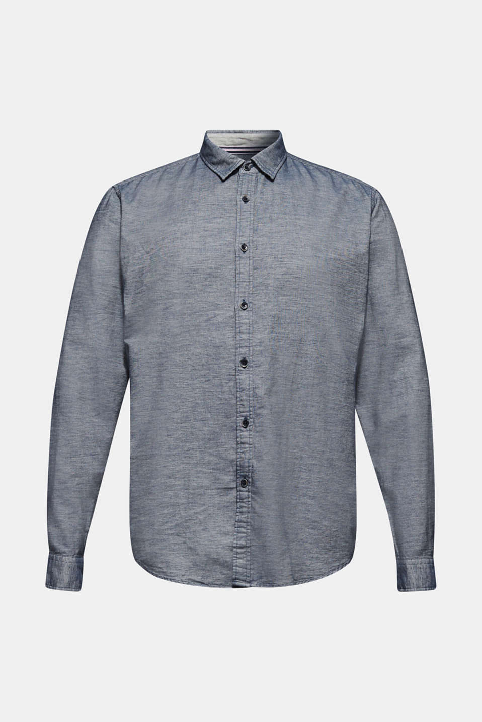 100% cotton shirt, GREY BLUE, detail image number 6