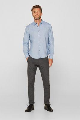100% cotton shirt, LIGHT BLUE, detail