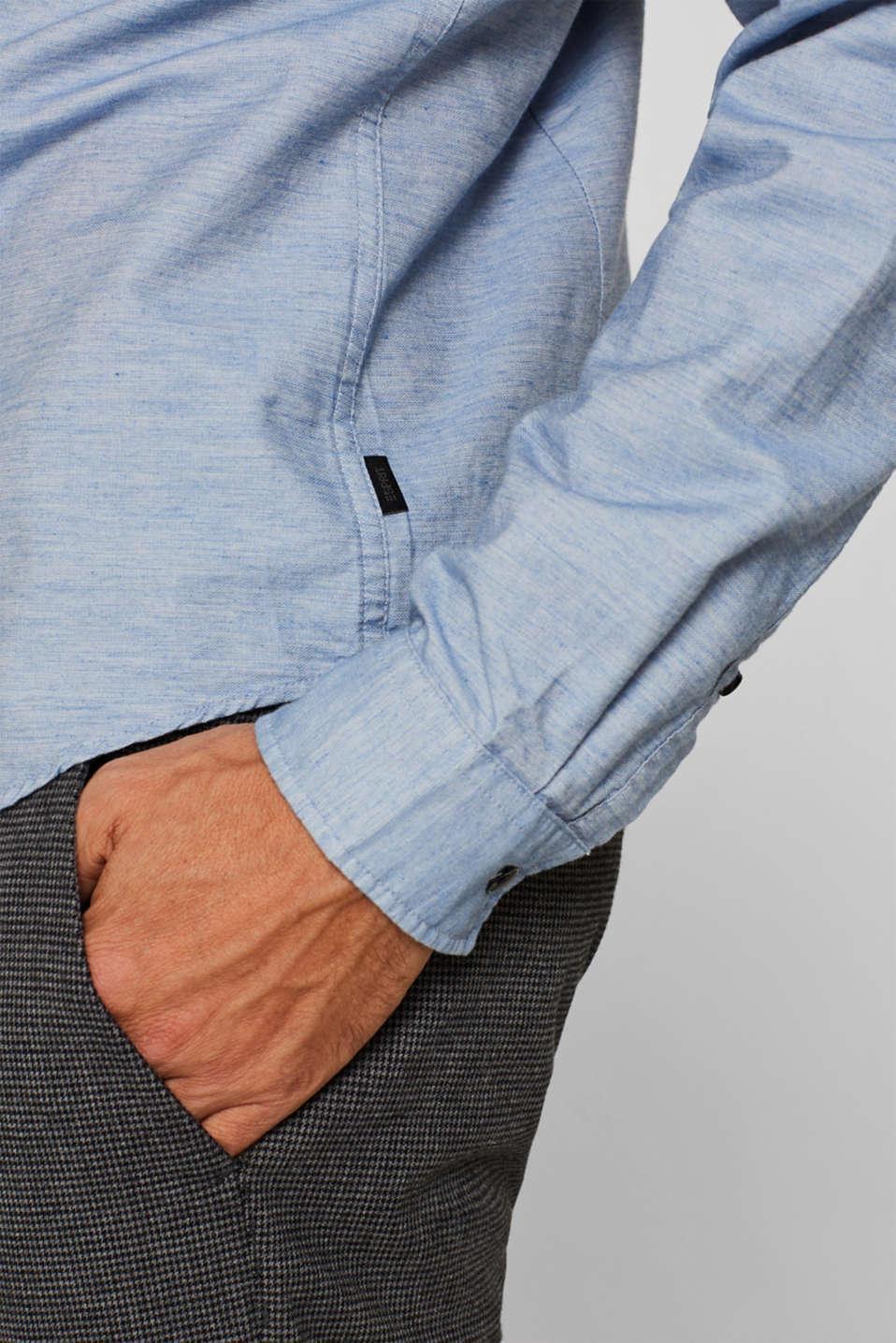 100% cotton shirt, LIGHT BLUE, detail image number 5
